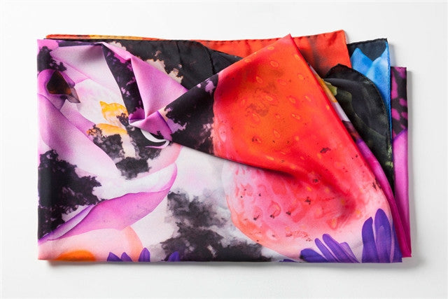 Radioactive... Scarf by Marc Quinn