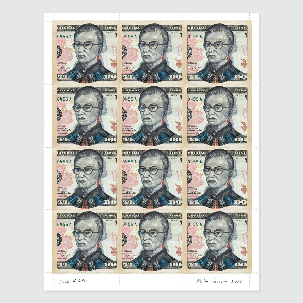 RBG Stamps (2020 edition) by Malia Jensen