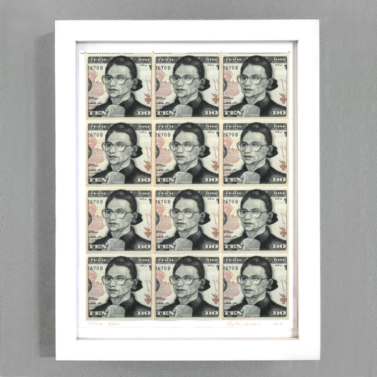 RBG Stamps by Malia Jensen