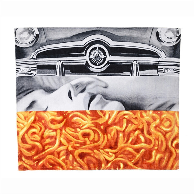 Beach/bath towel by James Rosenquist