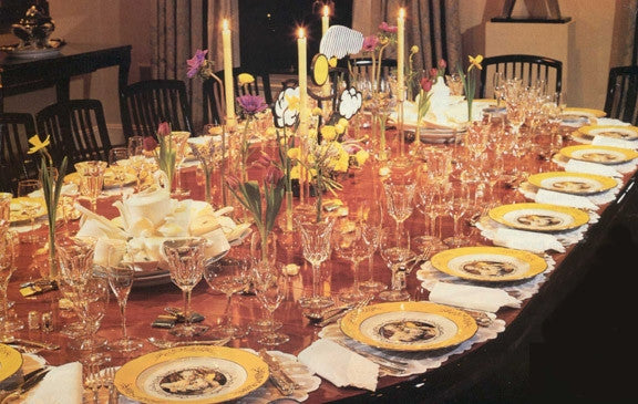 <i>Madame de Pompadour (née Poisson)</i><br> dinner service by Cindy Sherman