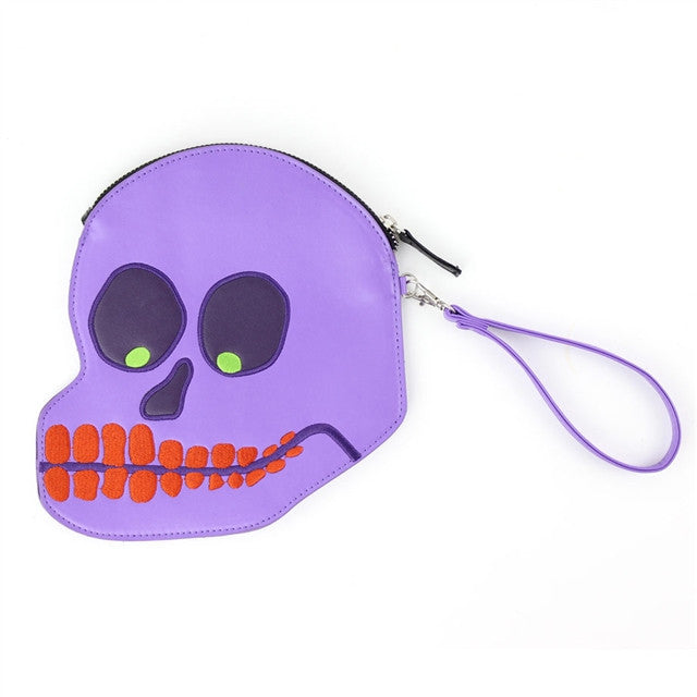 Skull Purse by David Shrigley