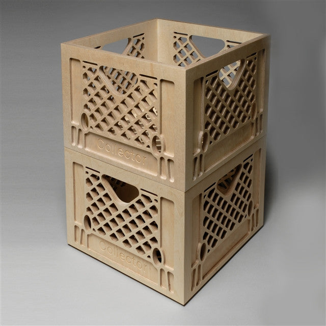 Collector crate by Peter Simensky