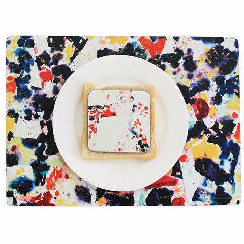 Placemats by Sam Francis