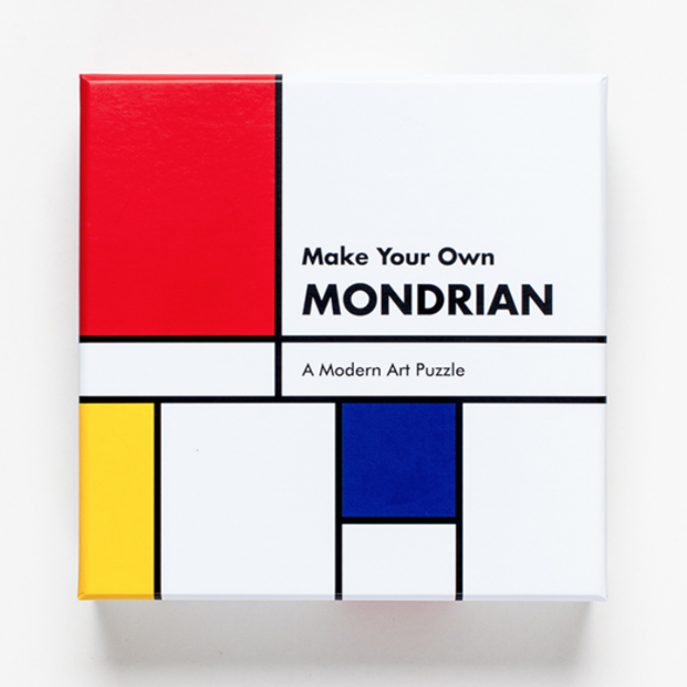 Make-Your-Own Jigsaw Puzzle by Piet Mondrian