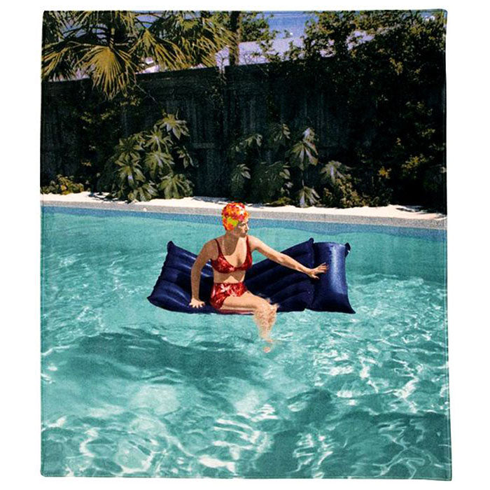 Beach/bath towel by Cindy Sherman