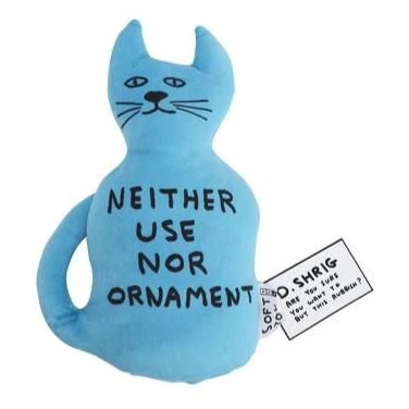 Cat Toy by David Shrigley
