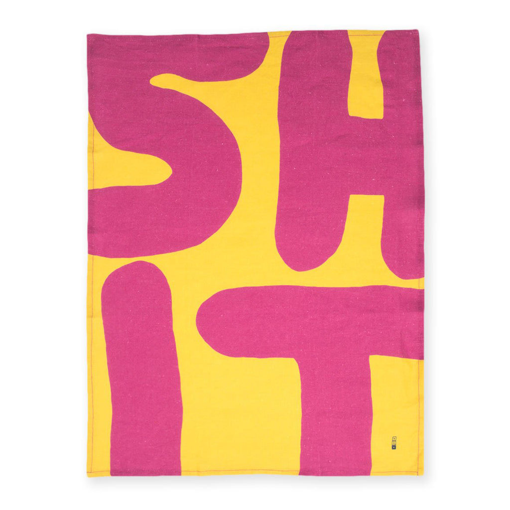 Sh*t Kitchen Towel by David Shrigley