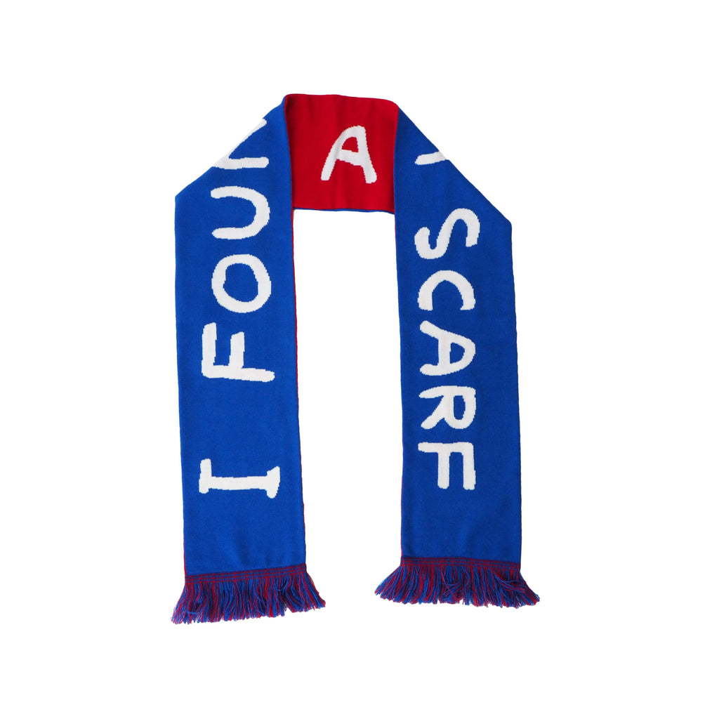 Scarf by David Shrigley