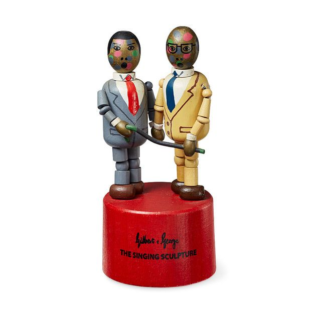 Singing Sculpture by Gilbert & George