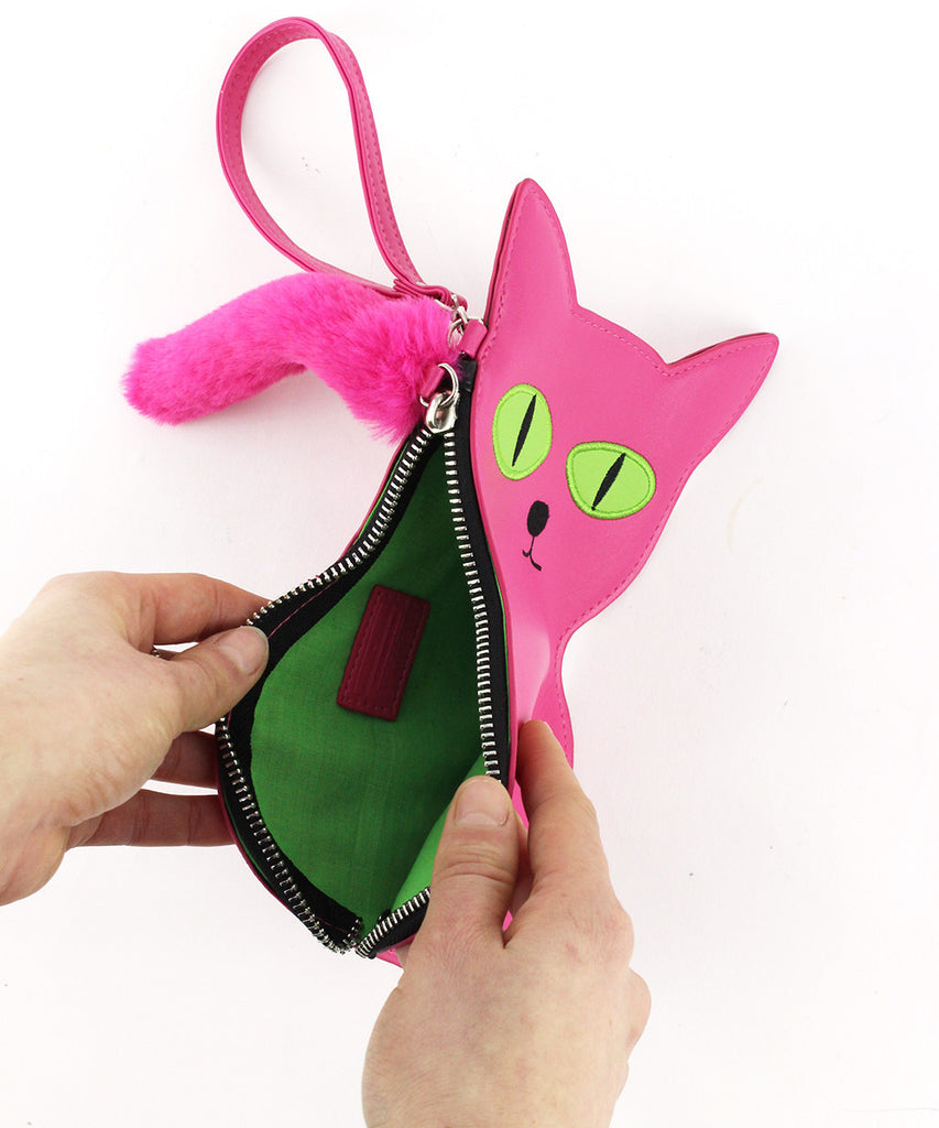 Cat Purse by David Shrigley