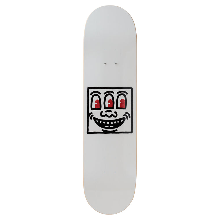 Untitled (Smile) Skateboard Deck after Keith Haring