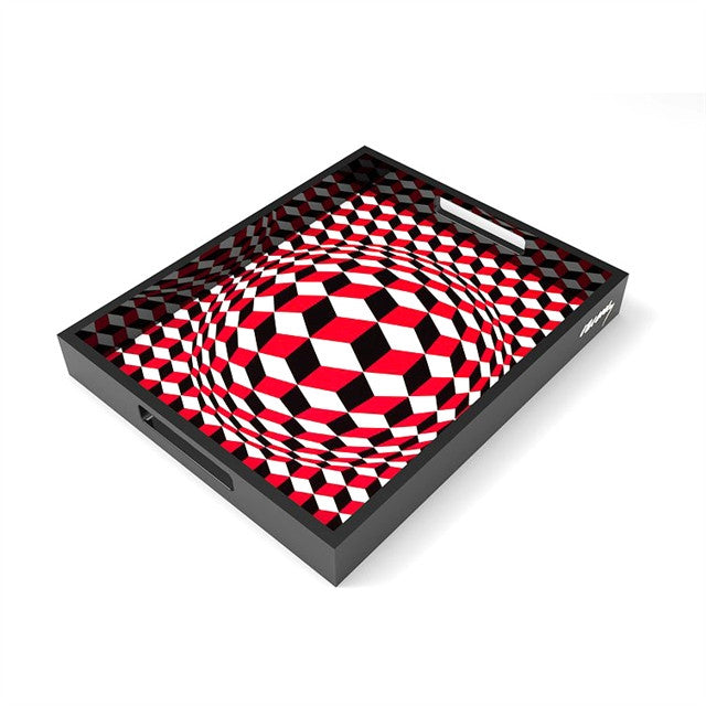 VP Cheyt Tray by Victor Vasarely