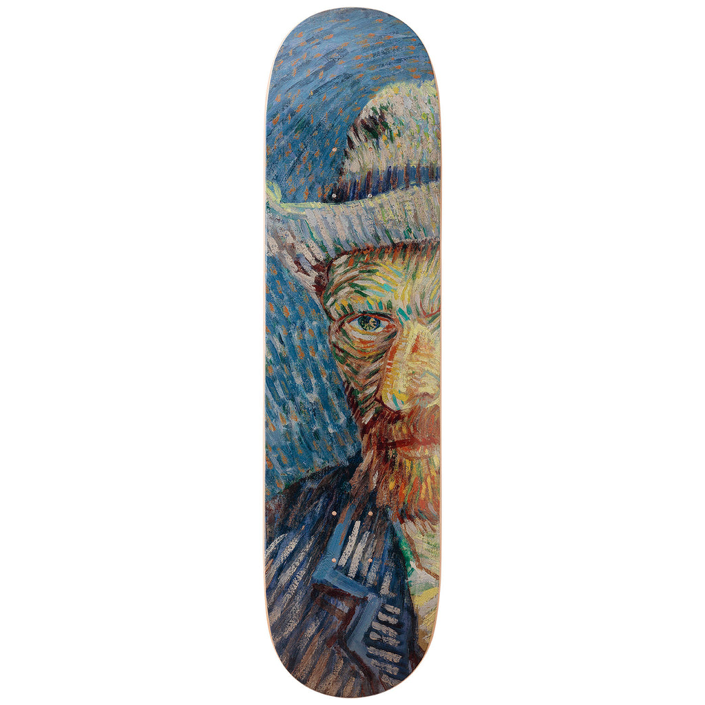 Self-Portrait Solo Skateboard Deck after Vincent Van Gogh