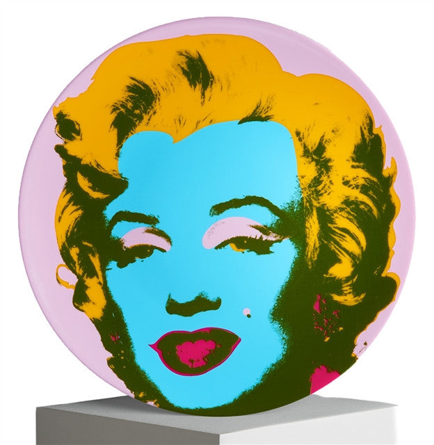 Marilyn Plate (Purple) by Andy Warhol