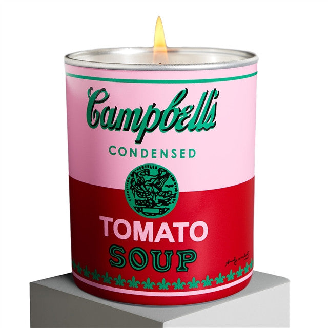 Candle (Tomato Leaf) by Andy Warhol