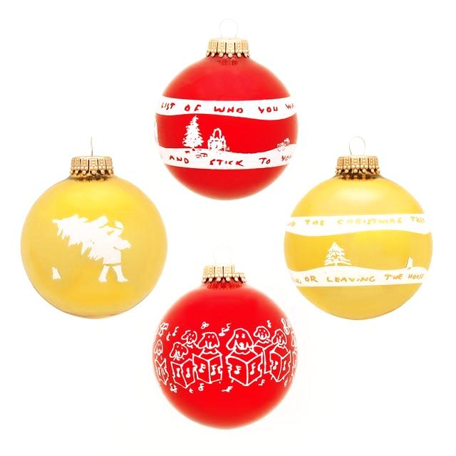 Christmas Ornaments by William Wegman