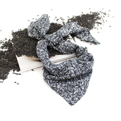 Sunflower Seeds Scarf by Ai Weiwei