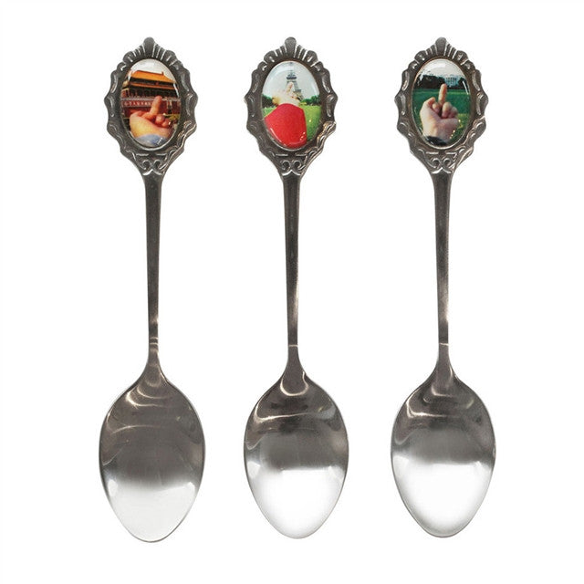 Spoons by Ai Weiwei