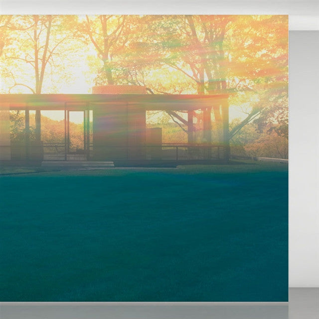 Glass House wallpaper by James Welling