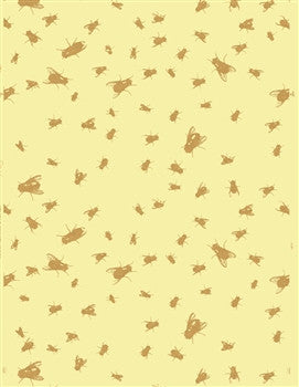 Flypaper Wallpaper by Rob Wynne