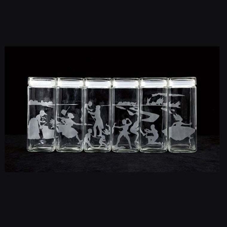 (Untitled) Canisters by Kara Walker