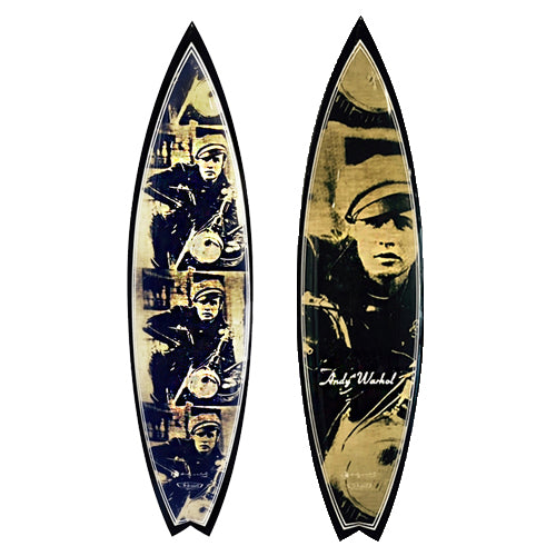 Marlon Brando Surfboard by Andy Warhol