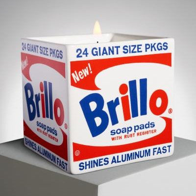Brillo Box Candle by Andy Warhol