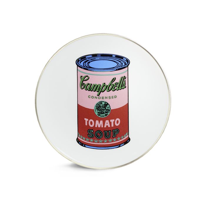 Campbell's Soup Can Plate Set by Andy Warhol