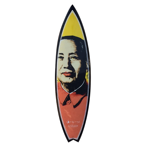Mao Surfboard by Andy Warhol
