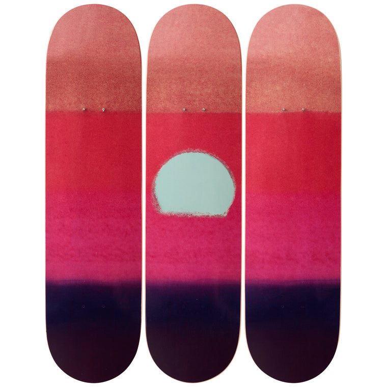 Sunset (Purple) Skateboard Decks after Andy Warhol