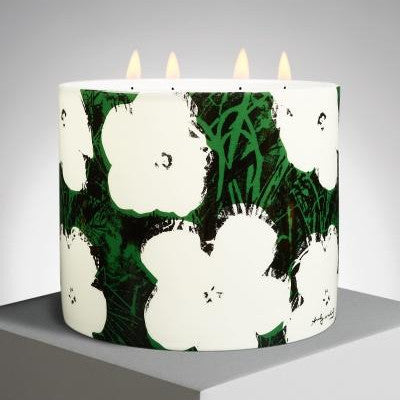 Flowers Candle by Andy Warhol