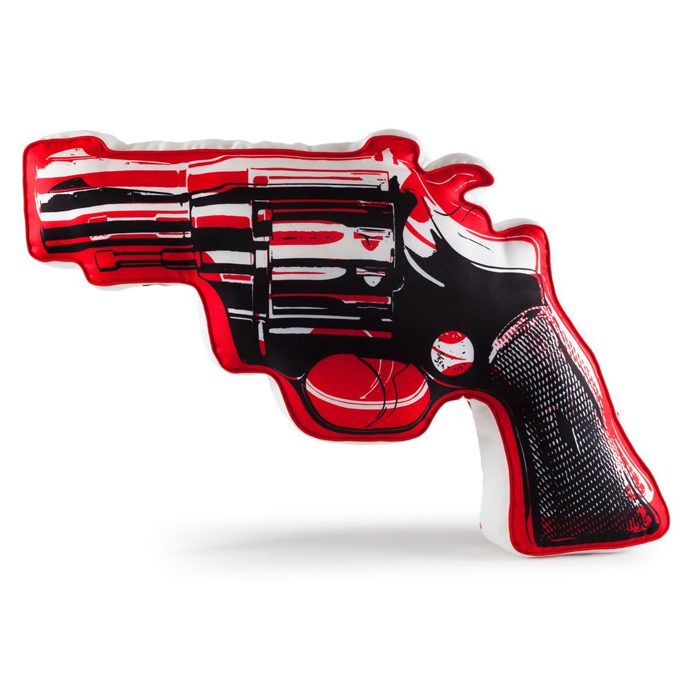 XL Revolver Plush by Andy Warhol