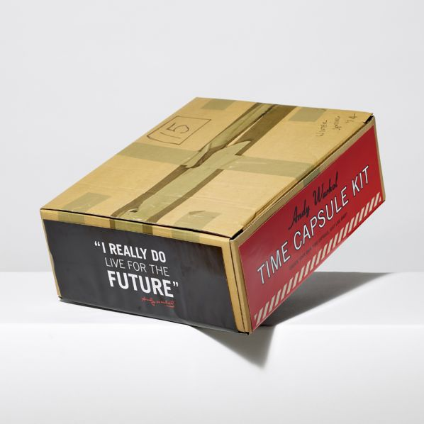 Time Capsule Kit by Andy Warhol