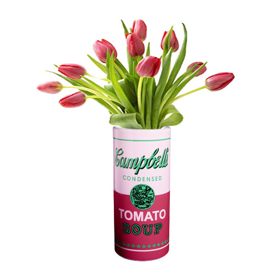 Campbell's Soup Can Vase by Andy Warhol