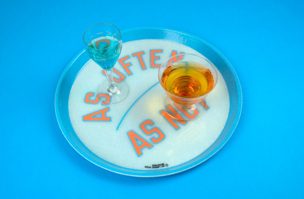 Tray by Lawrence Weiner