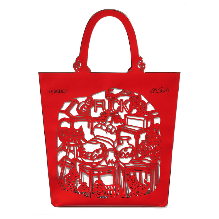 The China Bag (Cats & Dogs) by Ai Weiwei