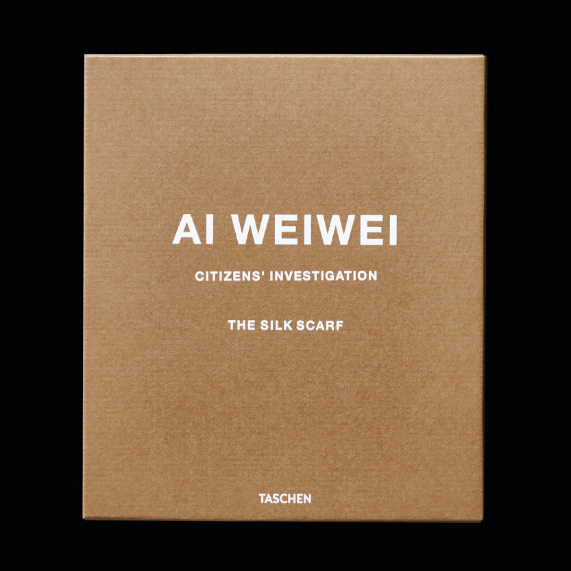 Citizen's Investigation Scarf by Ai Weiwei