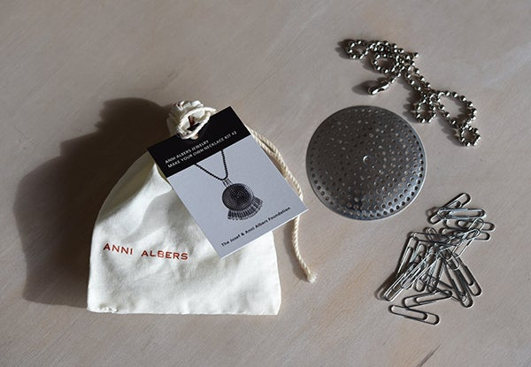 Necklace Kit #2 by Anni Albers