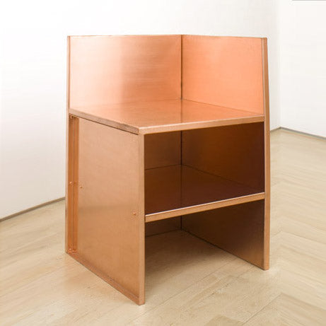 Corner Chair by Donald Judd