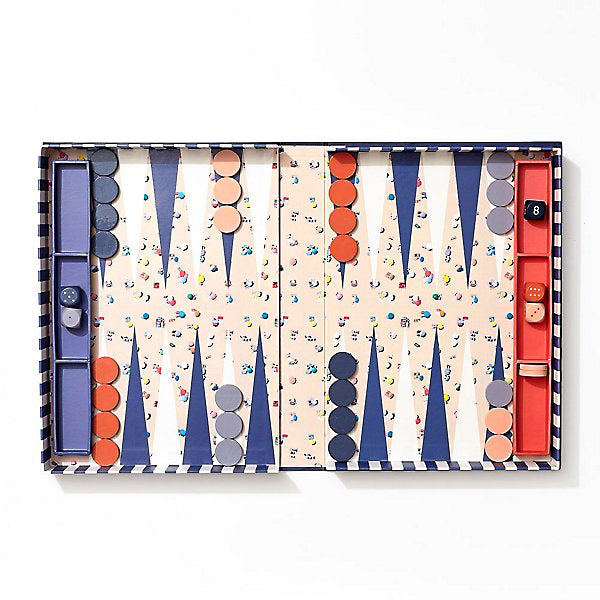 The Beach Backgammon Set by Gray Malin