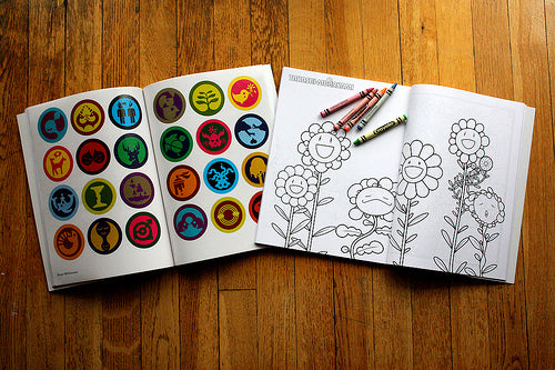 Between the Lines Coloring Book by RxArt