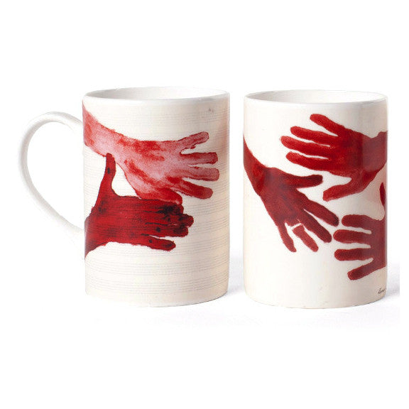 10am is When You Come To Me Mugs by Louise Bourgeois