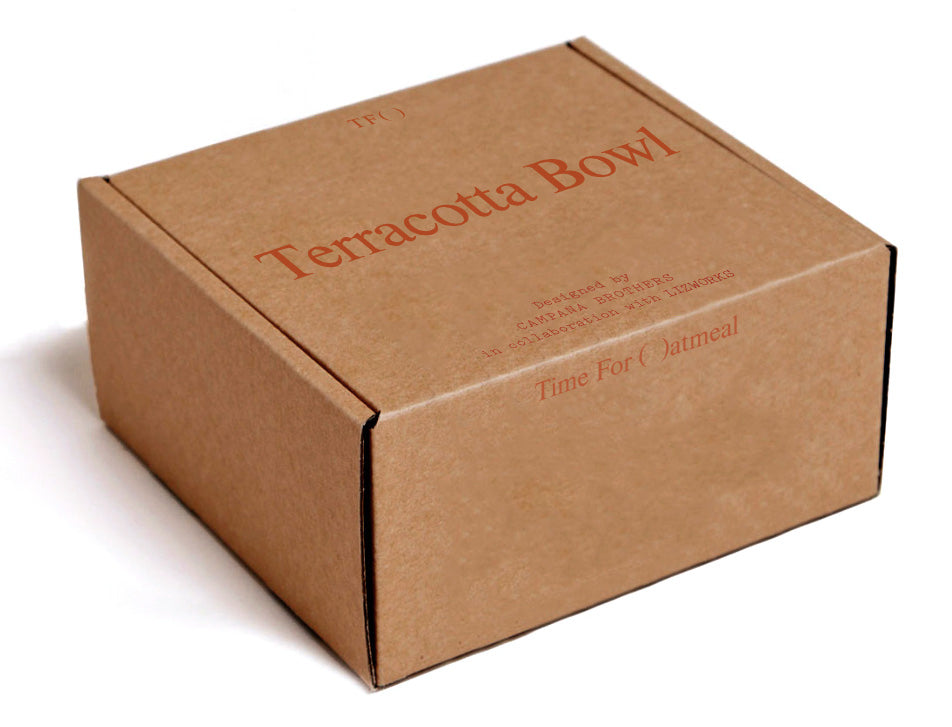 Terracotta Bowl by Campana Brothers