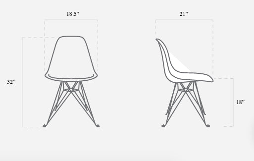 Keith Haring Case Study Furniture® Chair (Faces)