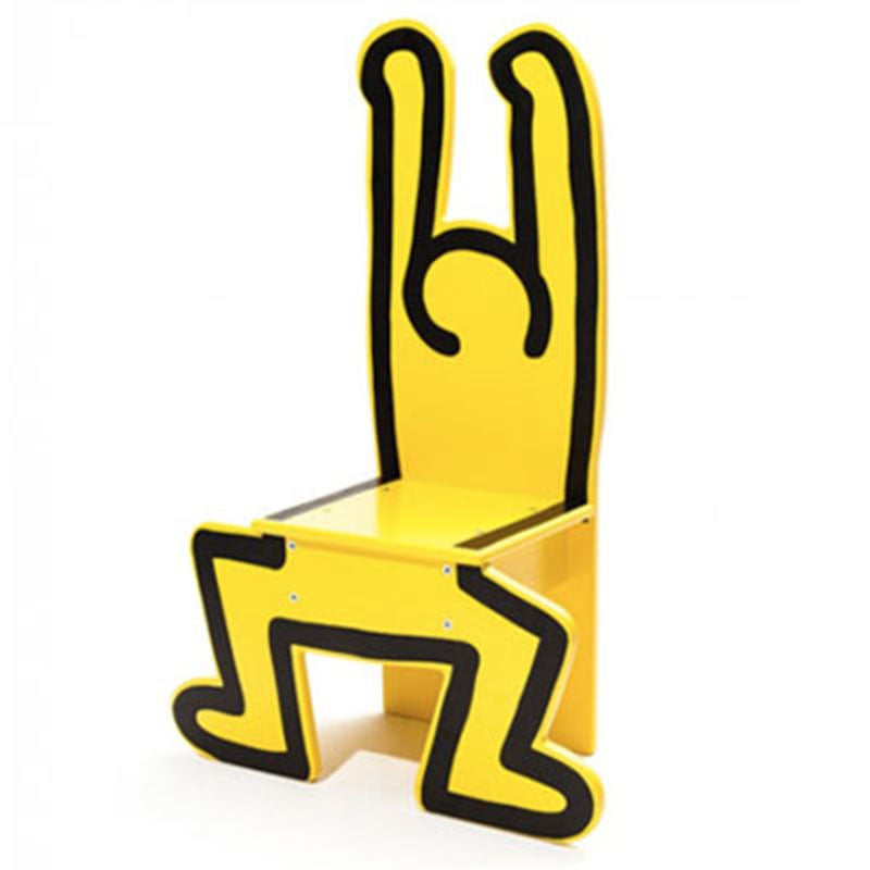 Child Chaise Chair by Keith Haring