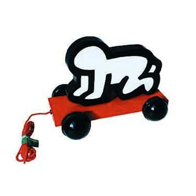 Baby Pull Toy by Keith Haring