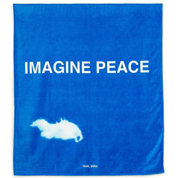Beach/bath towel by Yoko Ono