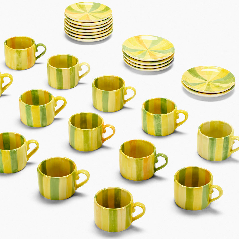Cup & Saucer set by Jorge Pardo