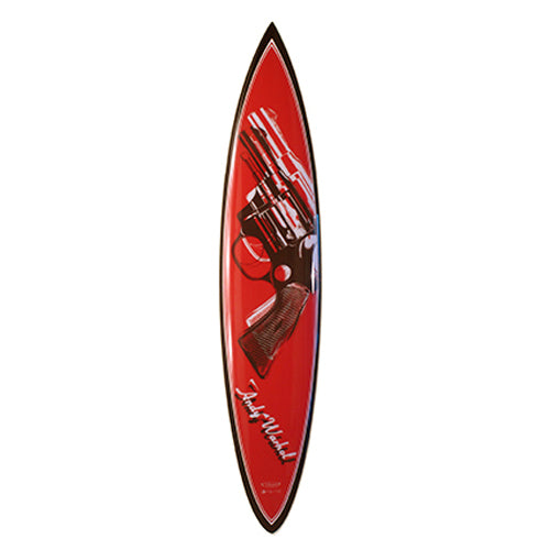 Revolver Surfboard by Andy Warhol